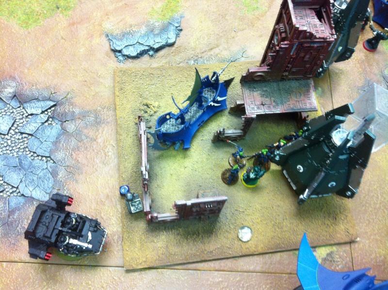 DE Sliscus Cult vs Iron Hands Armour Wall! Img_4226