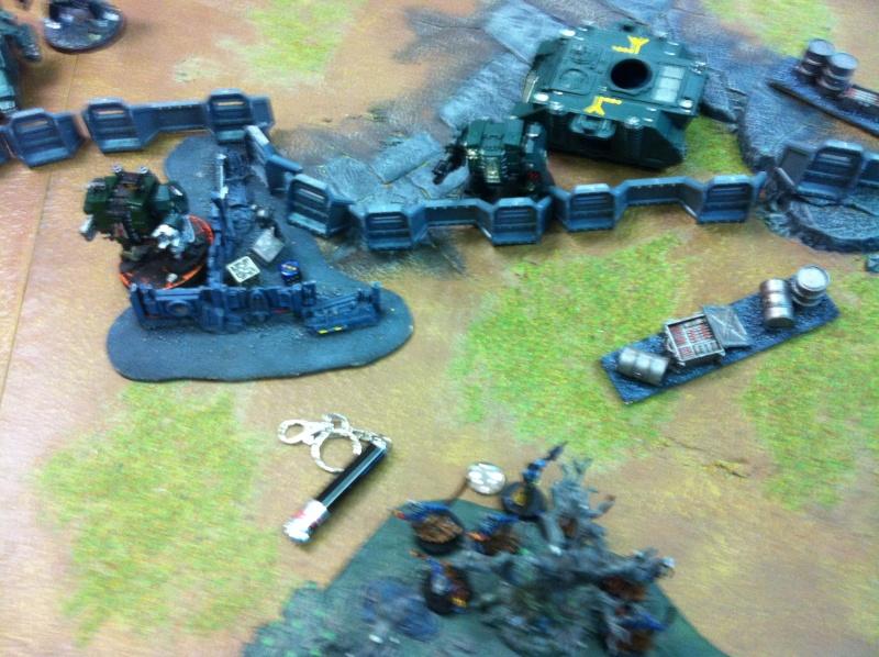 DE Sliscus Cult vs Iron Hands Armour Wall! Img_4229