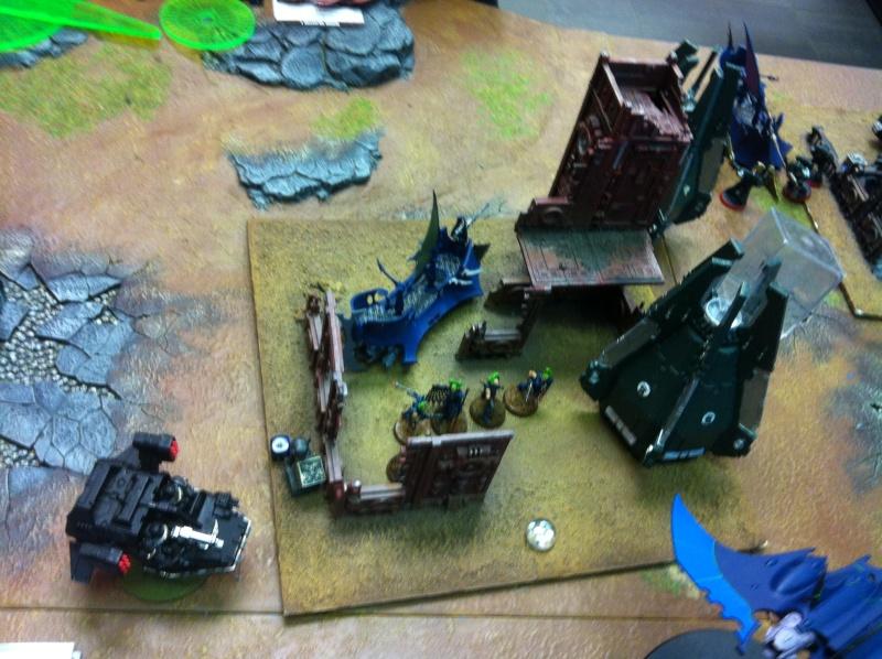 DE Sliscus Cult vs Iron Hands Armour Wall! Img_4230