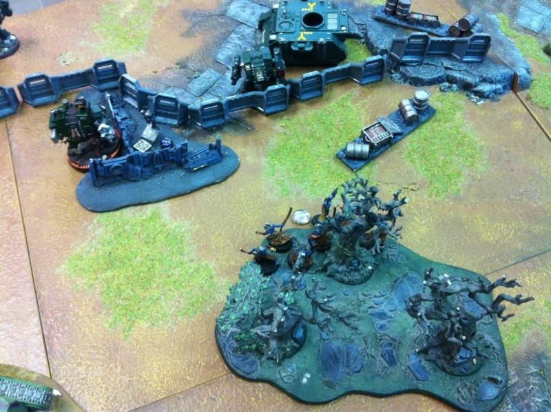 DE Sliscus Cult vs Iron Hands Armour Wall! Img_4231
