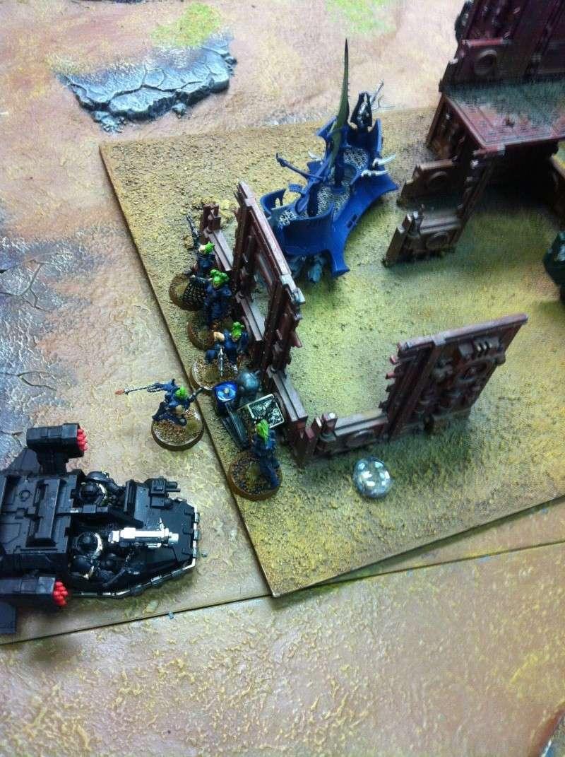 DE Sliscus Cult vs Iron Hands Armour Wall! Img_4232