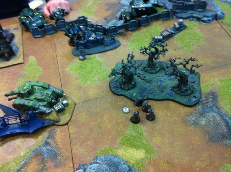 DE Sliscus Cult vs Iron Hands Armour Wall! Img_4233
