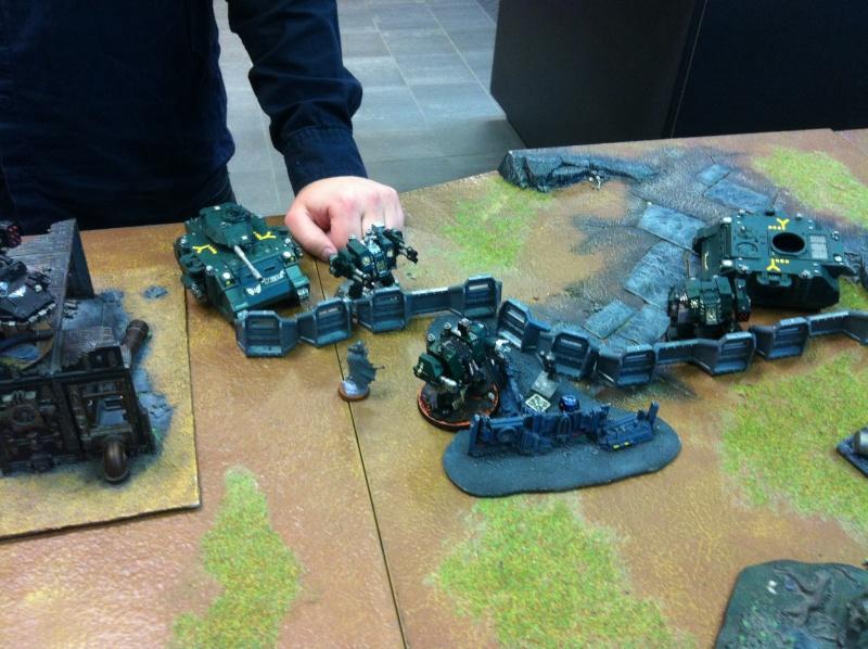 DE Sliscus Cult vs Iron Hands Armour Wall! Img_4234