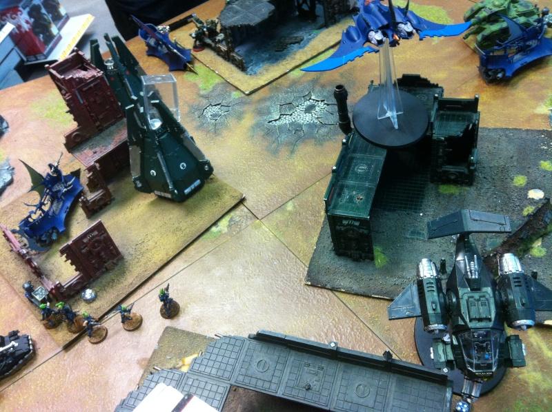 DE Sliscus Cult vs Iron Hands Armour Wall! Img_4235