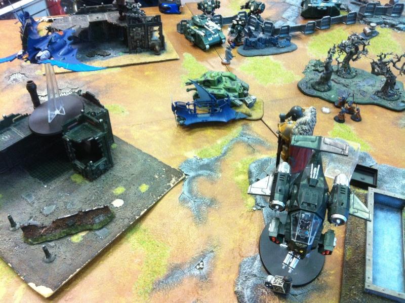 DE Sliscus Cult vs Iron Hands Armour Wall! Img_4238