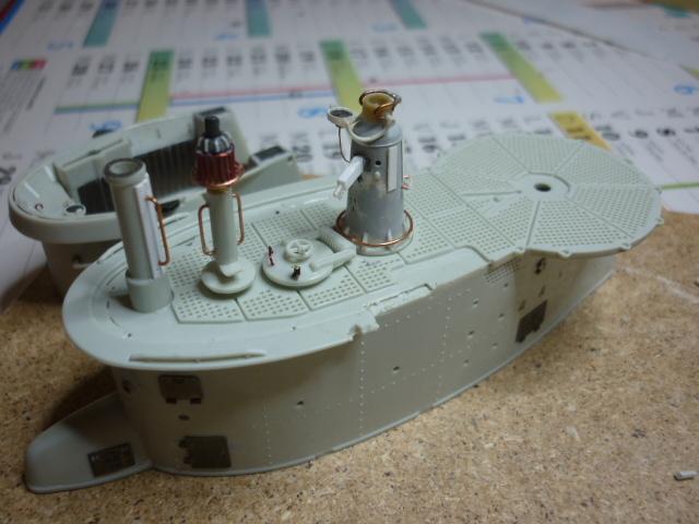 U-boote type VIID au 1/72 (U218) 310