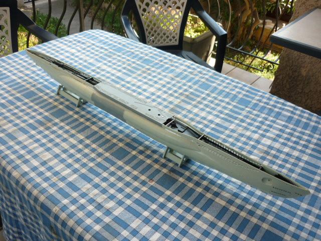 U-boote type VIID au 1/72 (U218) A10