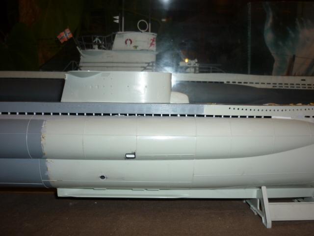 U-boote type VIID au 1/72 (U218) P1070710