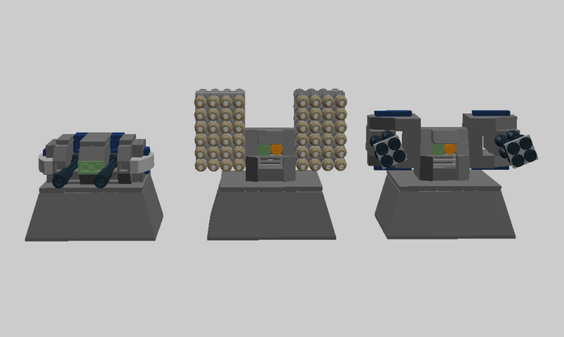Stationary Defense Emplacements Turret10