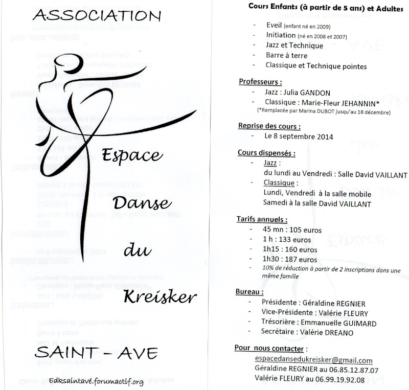 flyers/informations/tarifs Flyers10