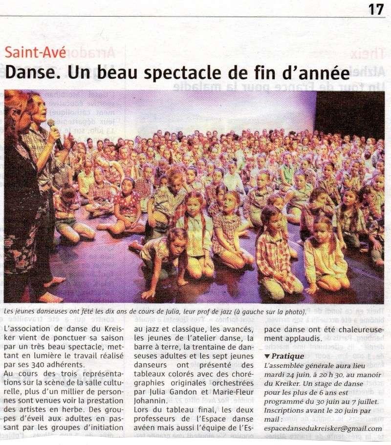 LA PRESSE DU 11 JUIN 2014 : Le télégramme Img08910