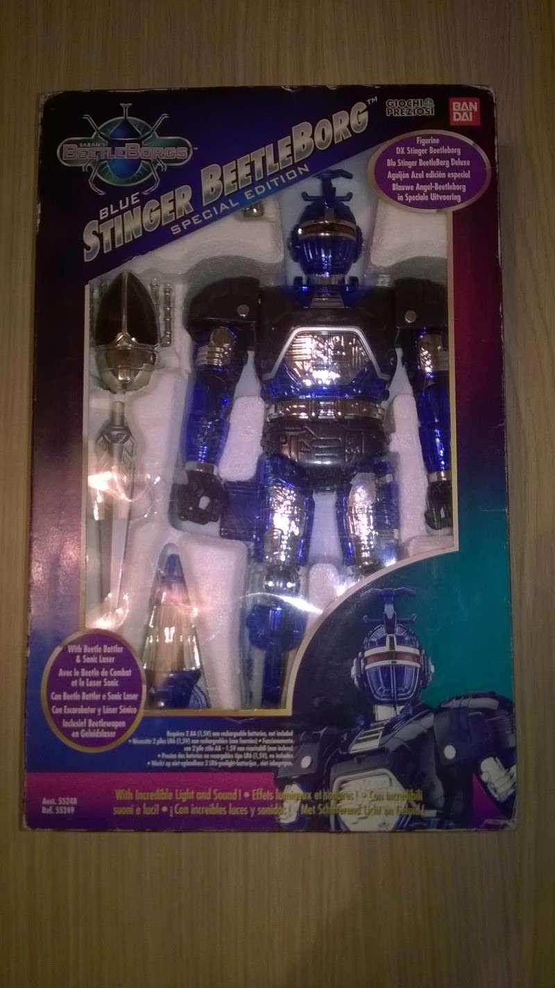 BEETLEBORG * BLUE STINGER * - robot BANDAI Wp_20110