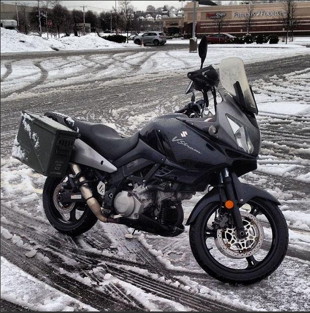 Adventure Motorcycles Vstrom10