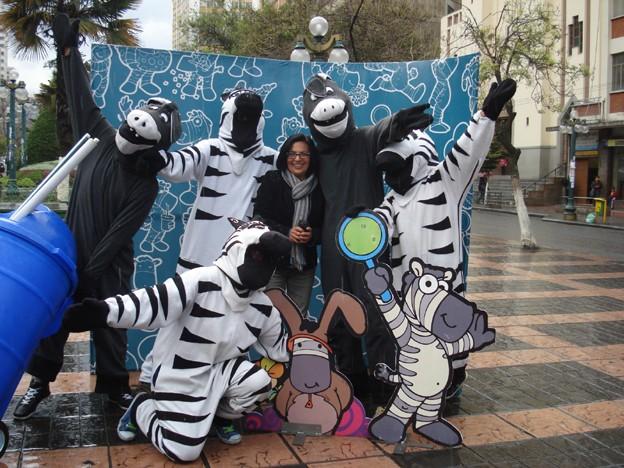 Cebras de La Paz, la distancia necesaria Cebras10