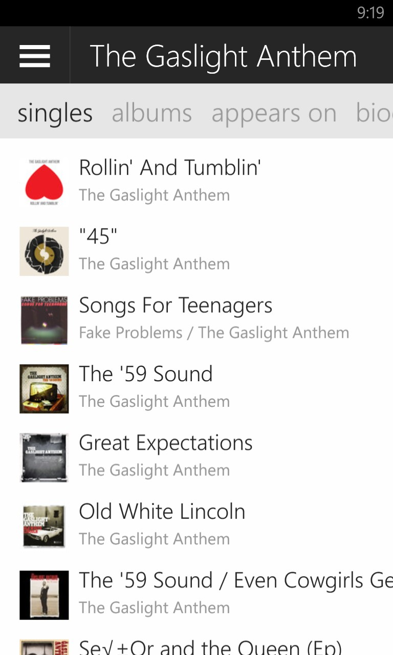 """Amazon Notes Interview: """"Gaslight Anthem """"Went Off the Deep End"""" on Experimental New Album, Says Brian Fallon"""" Wp_ss_10"""