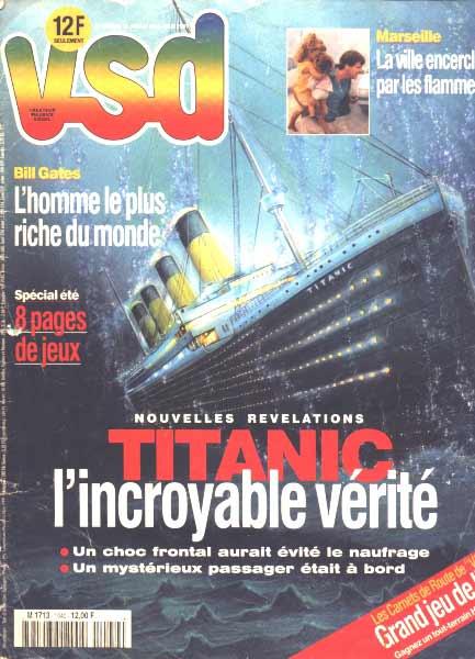 Conséquences sur l'histoire du Titanic Vsd10