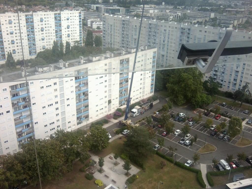 Réhabilitation de deux immeubles de 15 étages, Bordeaux Photo017