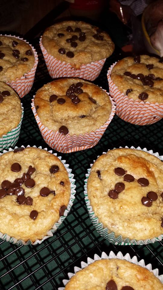 Banana Oat Greek Yogurt Muffins Muffin10