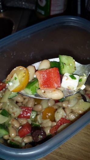 Stupidly Easy Mediterranean Bean Salad Salad10