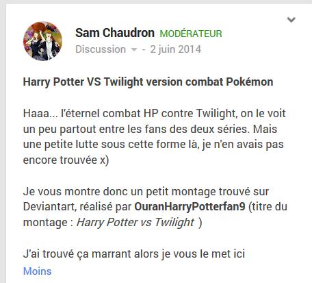 Harry Potter VS Twilight version combat Pokémon Hpvspo11