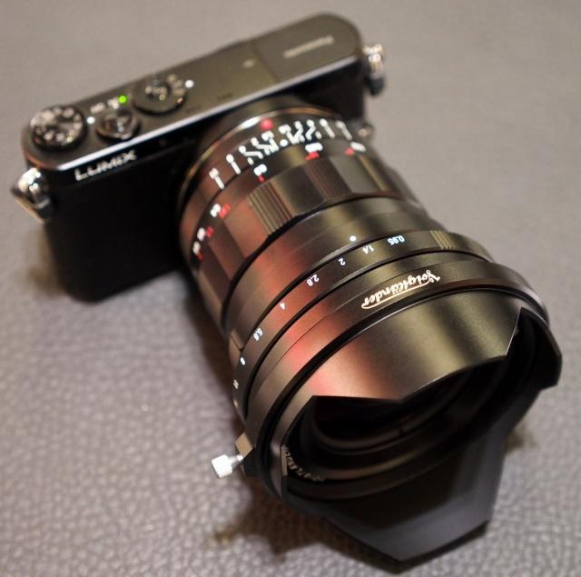 Voigtlander 10.5mm f/0.95 Voitgl12