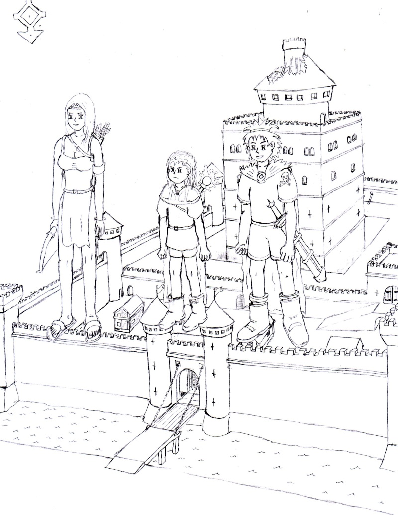 Galerie de dessins de Kaniglouton Pirate10