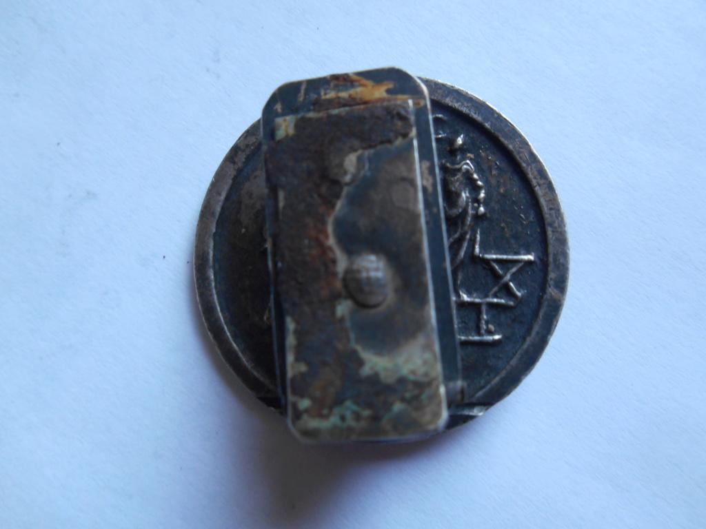 """broche médaille  """"imp maximinus pius avc"""" ? 00411"""