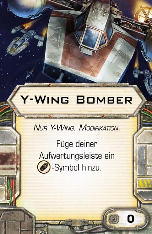 Y-Wing und Tie- Advanced fixen Bomber10