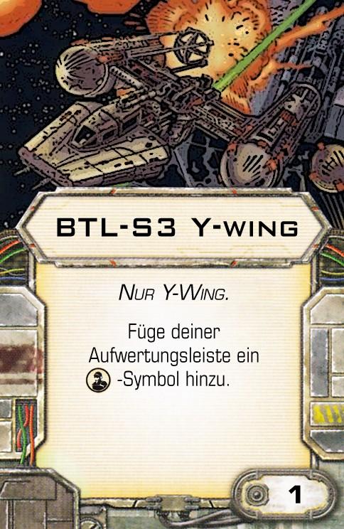 Y-Wing und Tie- Advanced fixen Btl-s310