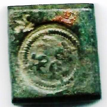 Poids Monétaire  pour le demi franc argent Henri III - V Deniers XII grains 3a10