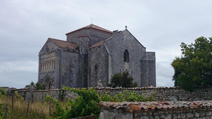 La presqu'île de Talmont / Eglise Sainte Radegonde (découverte 2/3) Dsc_0311