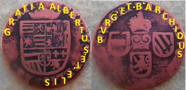 Liard Pays Bas Espagnol Albert et Elisabeth  Dscn0412
