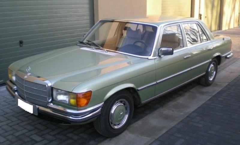 A VENDRE : W116 280 SE de 1977 équipé LPG 11-12-11