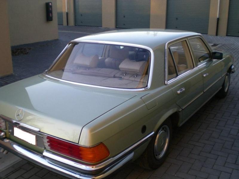 A VENDRE : W116 280 SE de 1977 équipé LPG 11-12-12