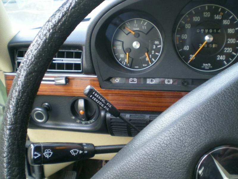A VENDRE : W116 280 SE de 1977 équipé LPG 11-12-19
