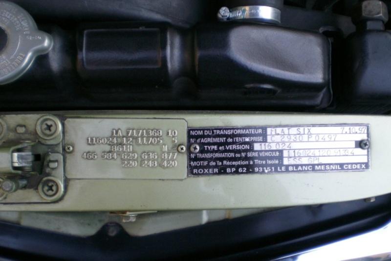 A VENDRE : W116 280 SE de 1977 équipé LPG 11-12-23