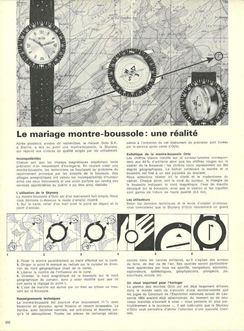 L'OCTO SKYNAVY, une montre boussole des années 1960 Octo_s10