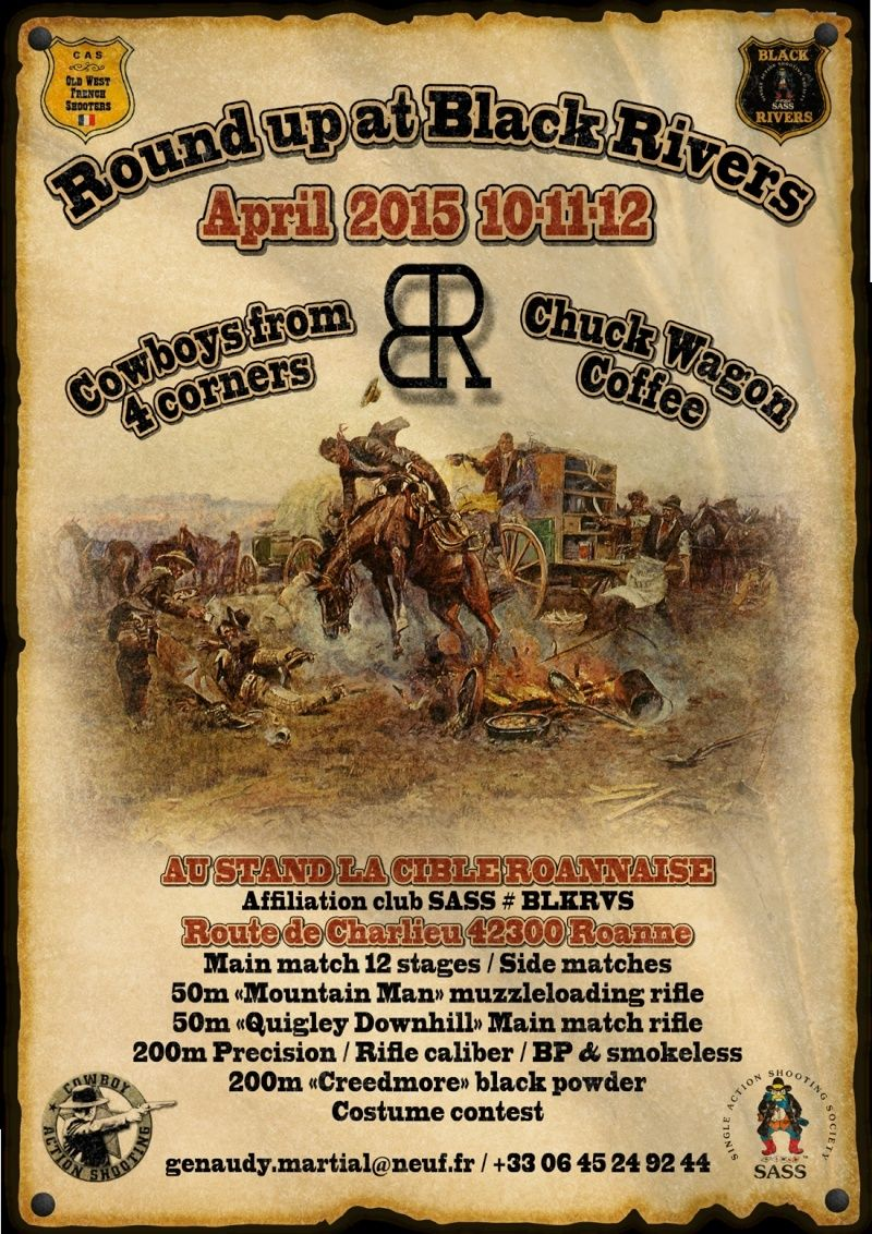 Round up at Black Rivers april 2015 10,11,12 Affich13