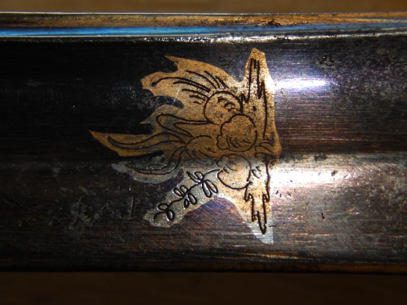 Sabre d'Officier à Garde de Bataille 1510