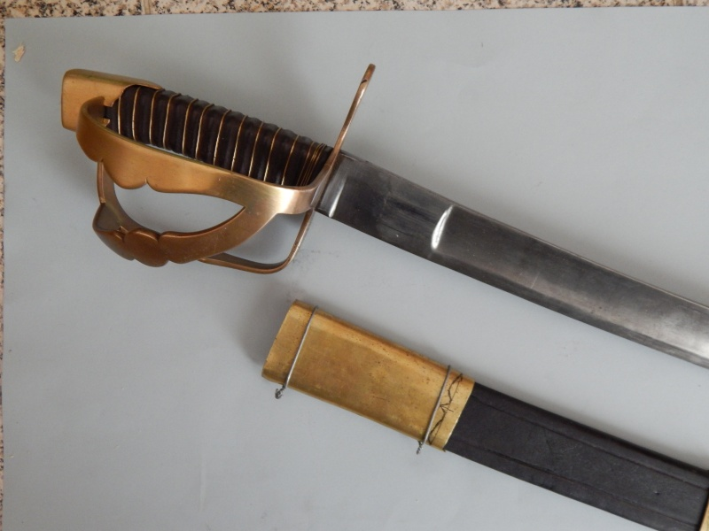 Sabre chasseur à cheval 1790 Chasse11
