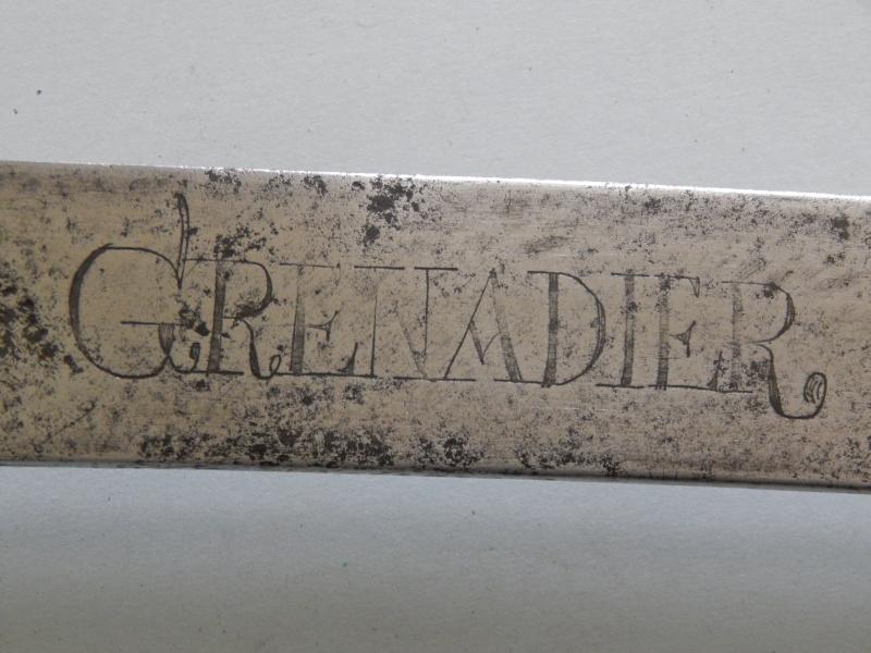 Sabre de Grenadier Mel 1767 Dscn0313