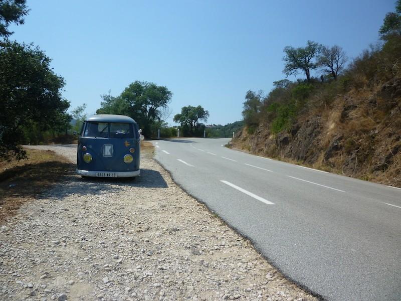 La route bleue en Kombi - Été 2009 P1000630