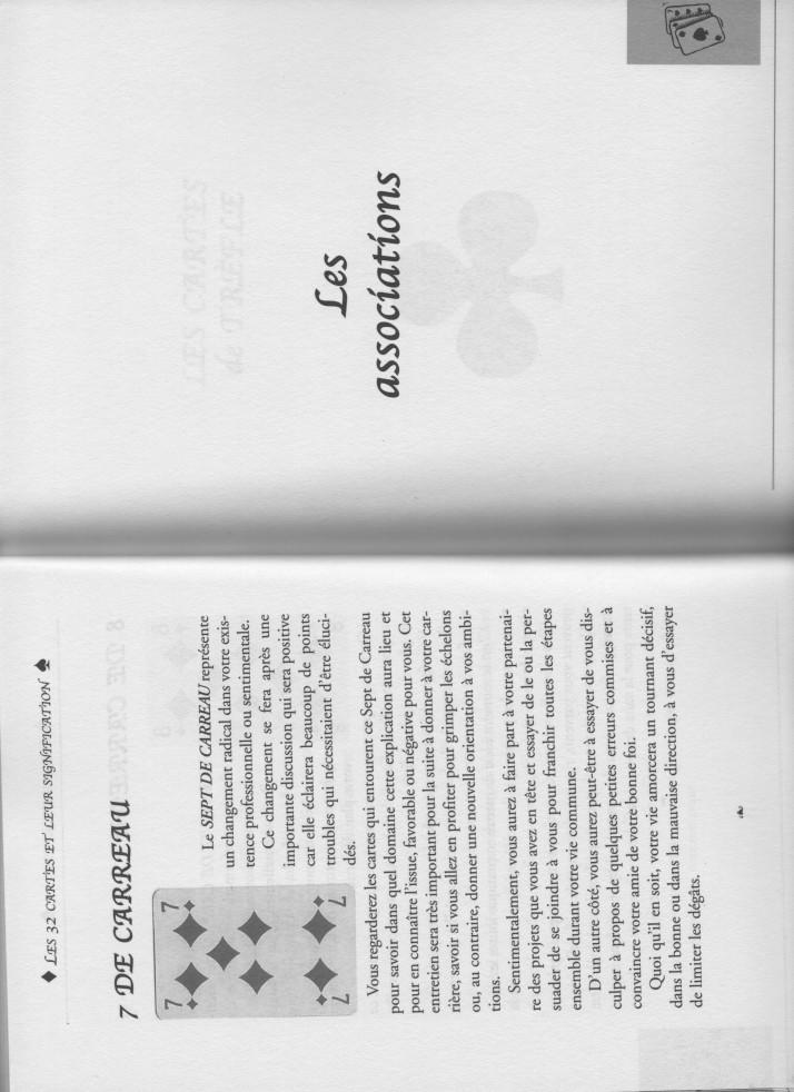 """livre """" votre avenir révélée par la cartomancie """"  6aa78c10"""