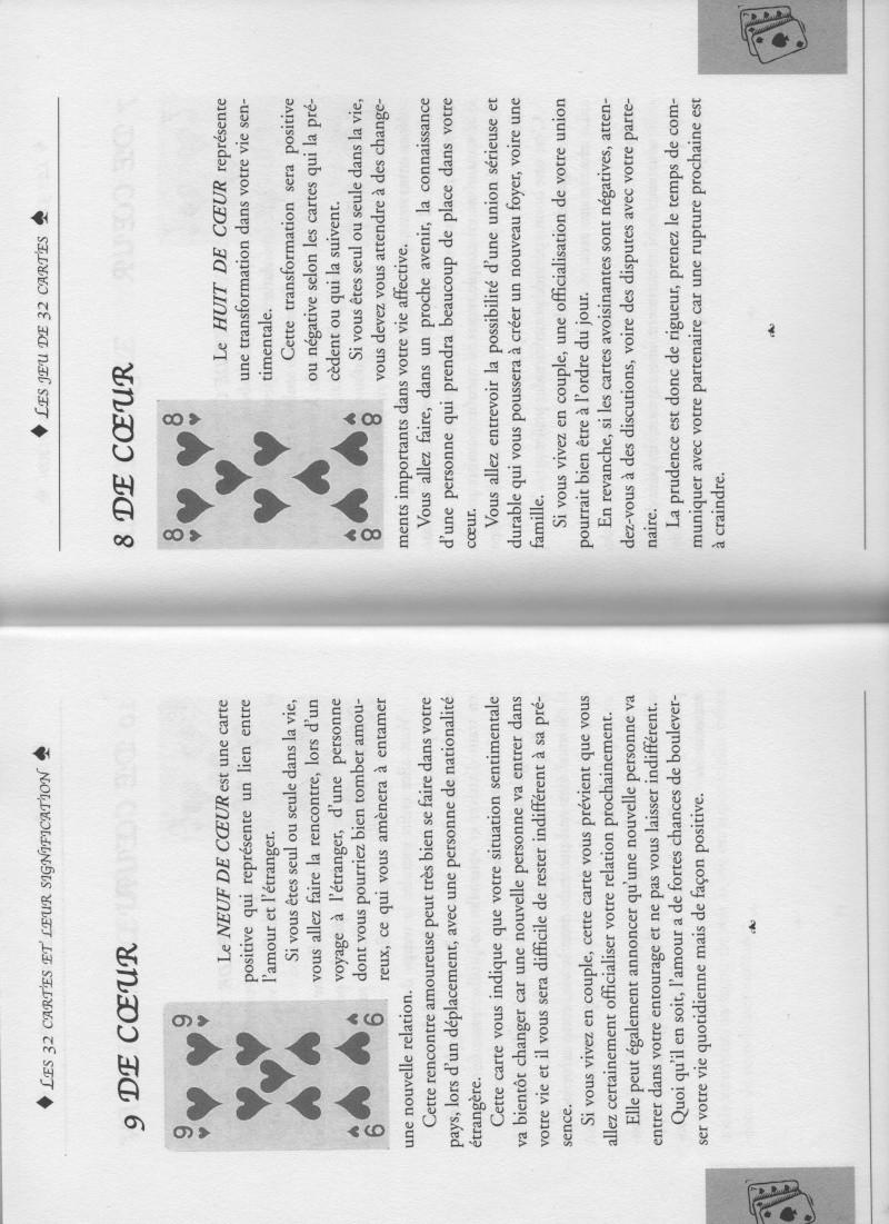 """livre """" votre avenir révélée par la cartomancie """"  9_et_810"""