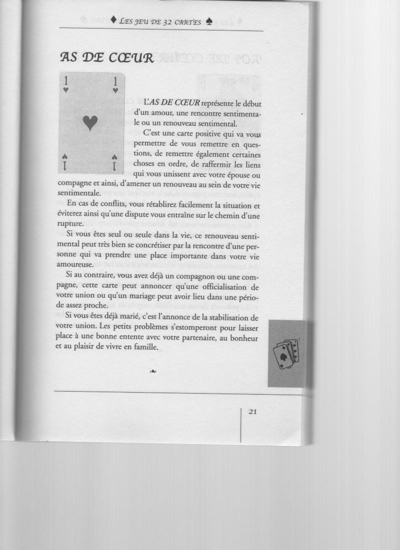 """livre """" votre avenir révélée par la cartomancie """"  As_de_11"""