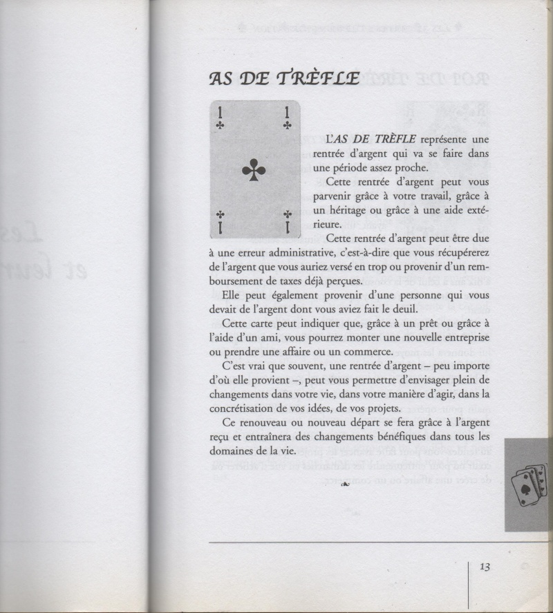 """livre """" votre avenir révélée par la cartomancie """"  As_tre10"""