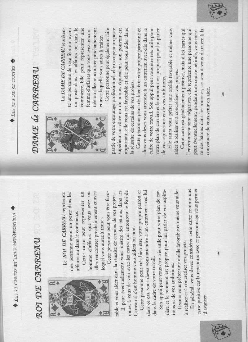 """livre """" votre avenir révélée par la cartomancie """"  Roi_da10"""