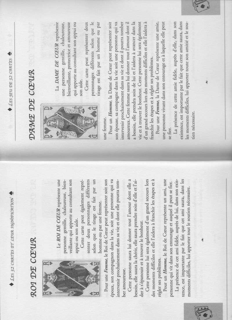 """livre """" votre avenir révélée par la cartomancie """"  Roi_et10"""
