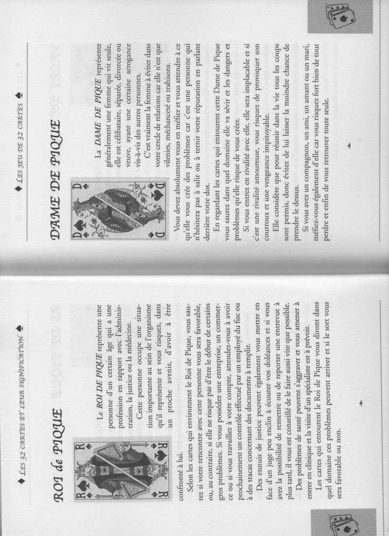 """livre """" votre avenir révélée par la cartomancie """"  Roi_et11"""