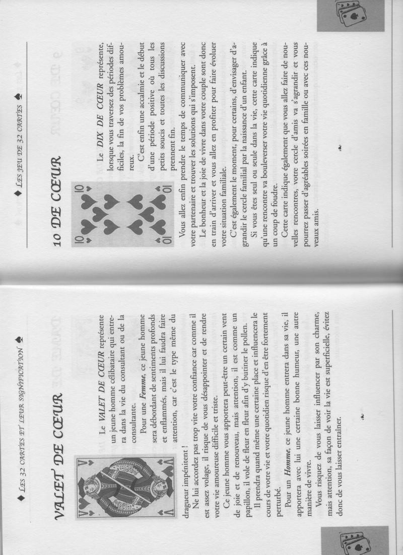 """livre """" votre avenir révélée par la cartomancie """"  Valet_11"""